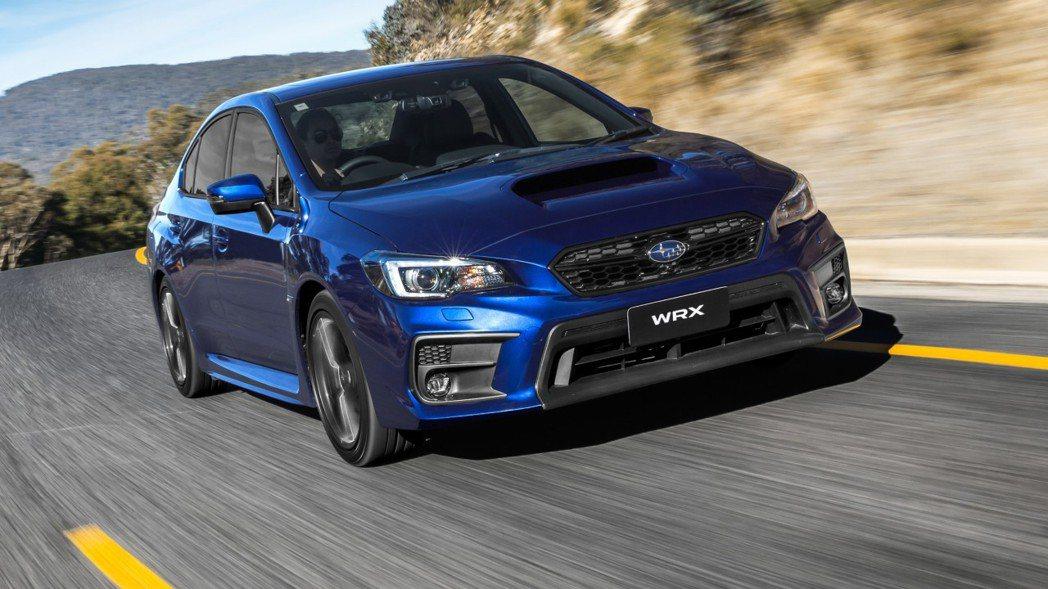 Subaru WRX也是熱門車款。 摘自Subaru