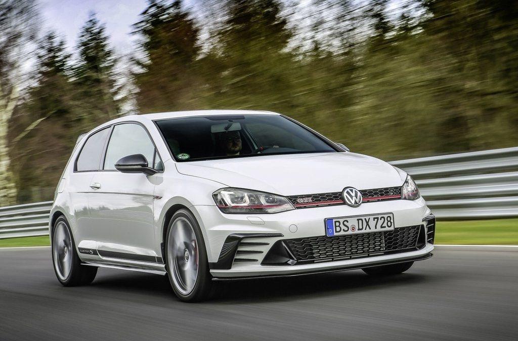 Volkswagen Golf GTI。 摘自Volkswagen