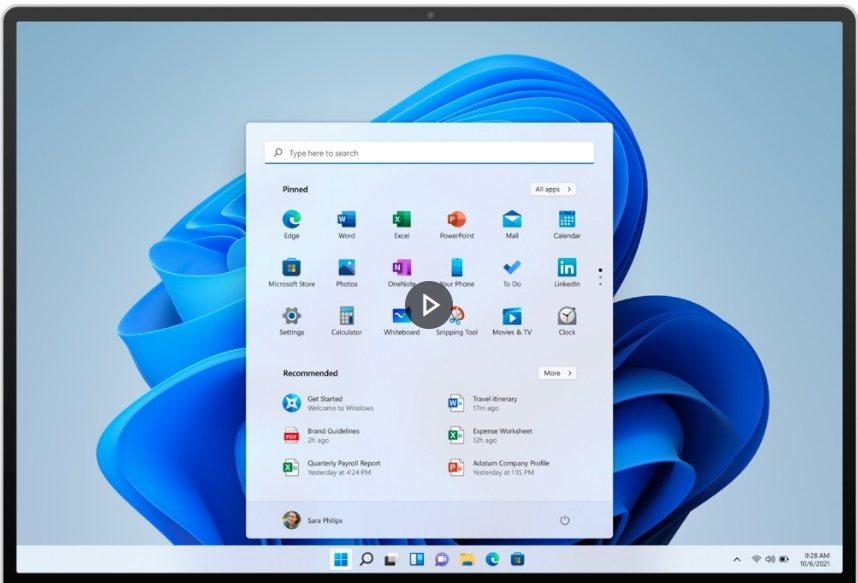 微軟24日發表最新作業系統「Windows 11」,這是微軟自2015年推出Wi...