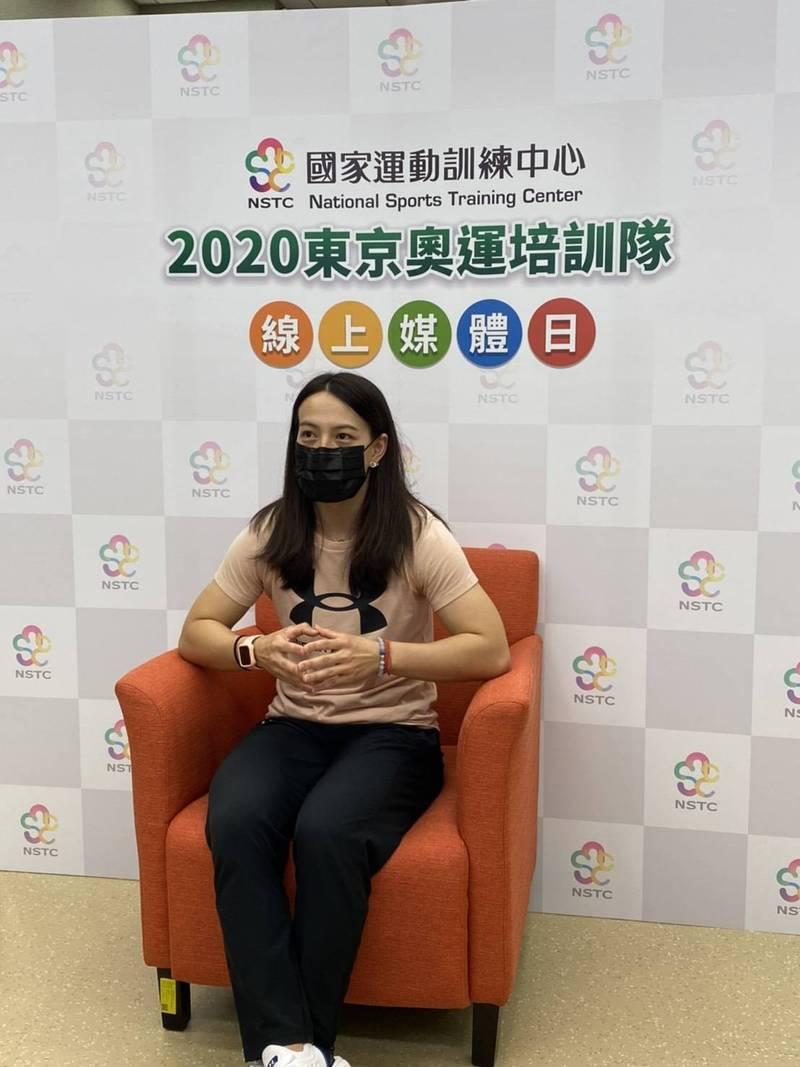 舉重「女神」郭婞淳希望如願在第3次奧運旅程帶回金牌,透過好成績帶給全台灣正面能量。 圖/國訓中心提供