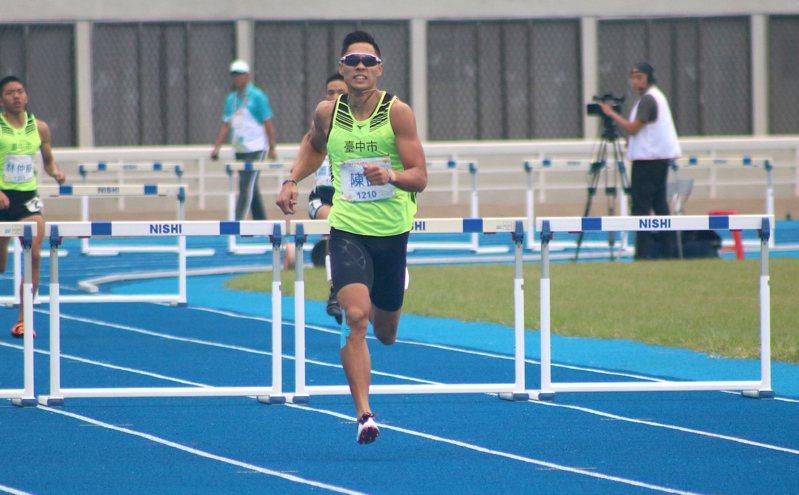 陳傑是今年中華田徑隊唯一的「三朝元老」。 聯合報系資料照