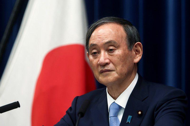 日本首相菅義偉。 路透社