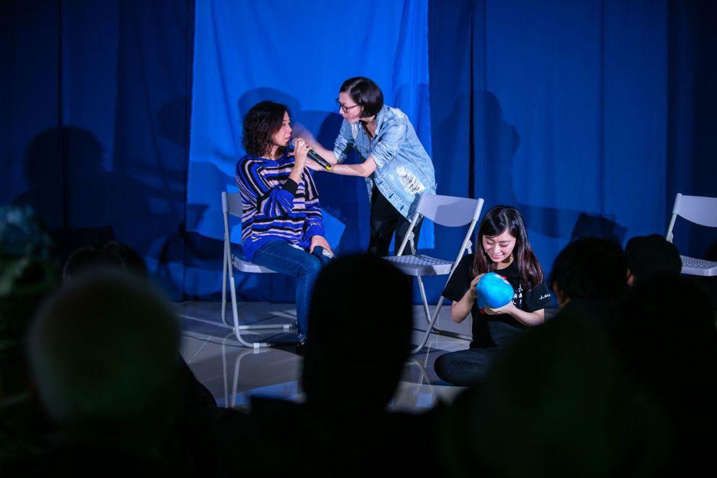 全新改版的療癒系劇場《Who護?》在新冠疫情影響之下,不得已改為線上演出。圖/水