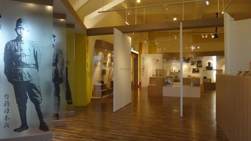 高雄旗津戰爭與和平紀念館展示紀念台灣兵與相關議題。圖/高雄市歷史博物館提供