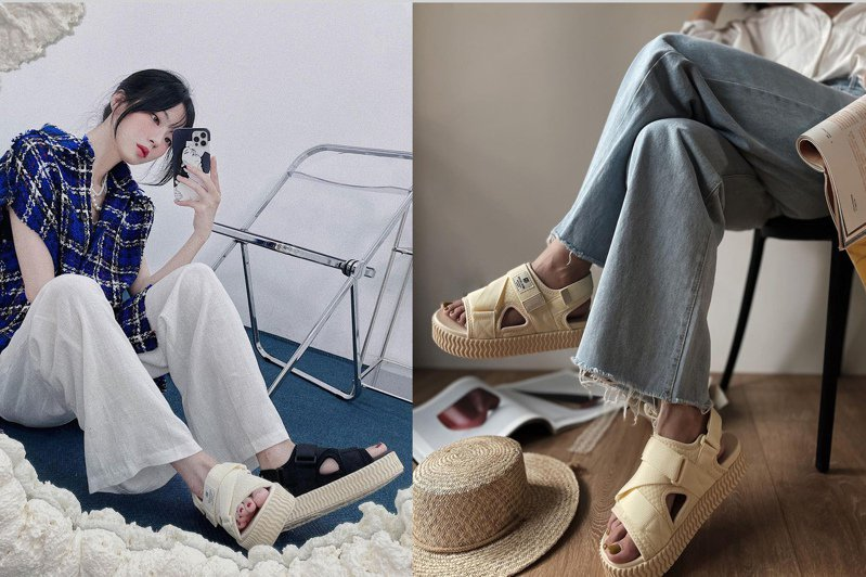 EXCELSIOR餅乾鞋一開始就透過社群平台的名人如李聖經、李鐘碩、朴敘俊等人的穿著,以及KOL的分享而爆紅。圖/摘自instagram