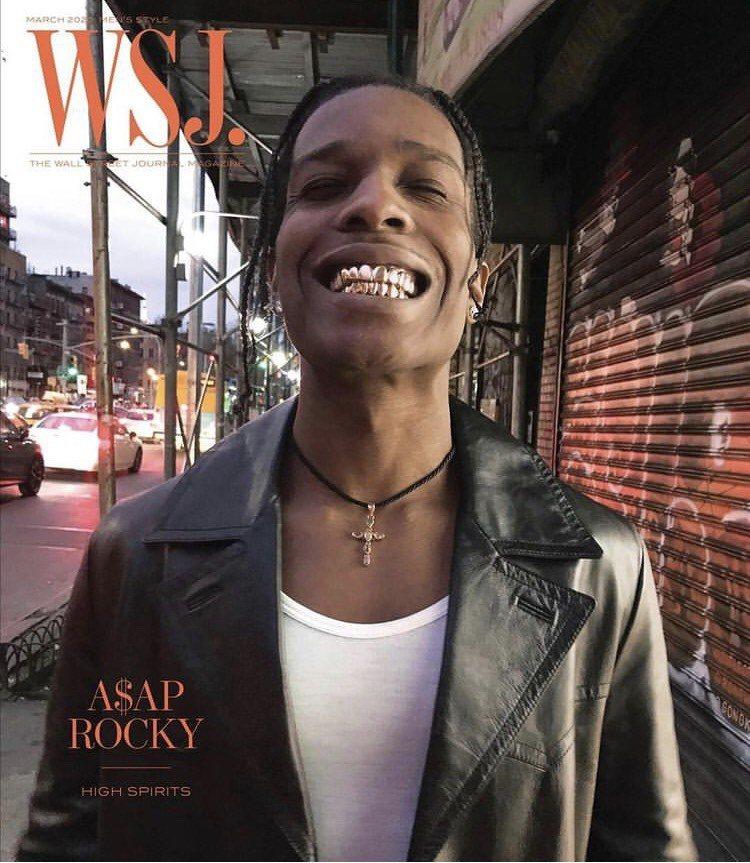 當紅美國饒舌樂手ASAP Rocky向Gabby Elan Jewelry訂製多...