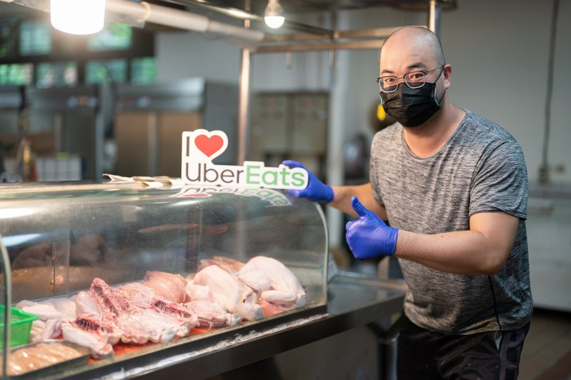 商品可以客製化也是Uber Eats傳統市場外送消費的誘因,常見客製化要求多為肉類的分切方式,切1塊或是2段,去皮去骨等,消費者可透過App彈性選擇數量與客製化商品。圖/Uber Eats提供
