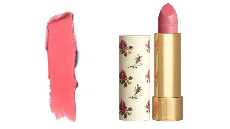 薄紗唇膏新色#410玫蘭不再。圖/GUCCI提供