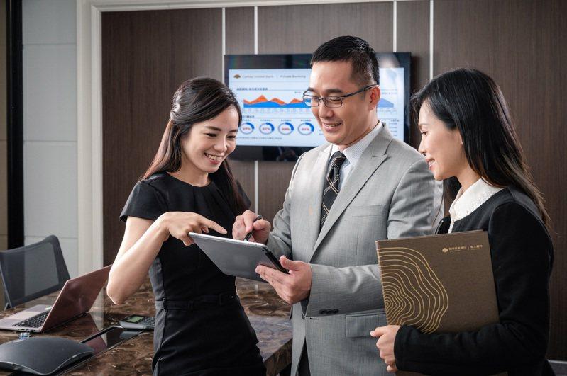國泰世華銀行成立私人銀行部門已有八年之久,高資產客戶服務經驗相當豐富,已規劃於今年第三季將正式開辦「財管2.0」業務。(資料照片,非三級警戒期間拍攝)。圖/國泰世華銀提供