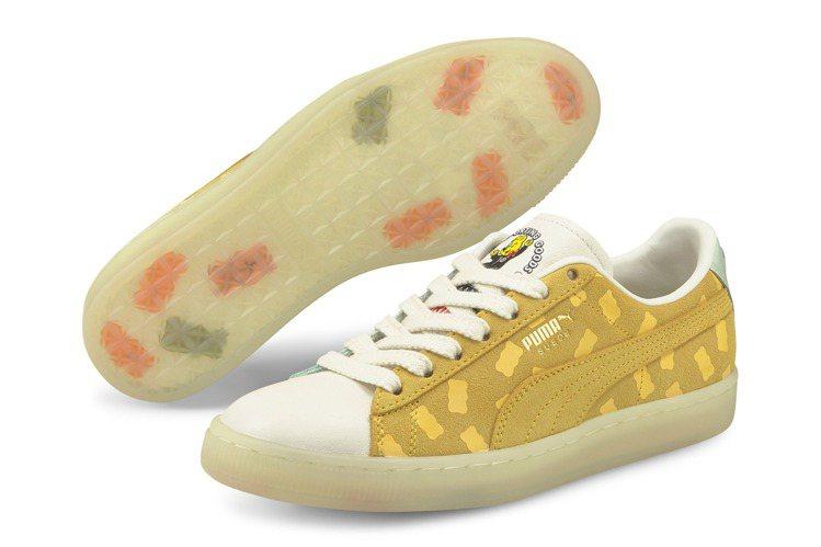 PUMA Suede HARIBO鞋3,480元。圖/PUMA提供