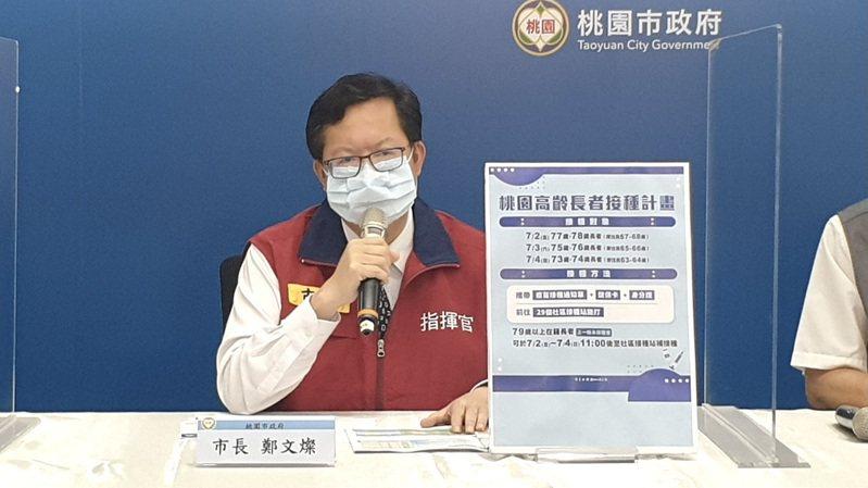 桃園市長鄭文燦表示,針對彰化火災事件,桃市消防局、觀旅局和各防疫旅館立刻進行了巡查跟檢查。圖/桃園市政府提供
