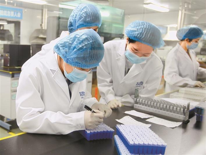 大陸新冠疫苗生產商之一的深圳康泰生物,將展開新冠變異毒株疫苗研發。(取自康泰生物官網)