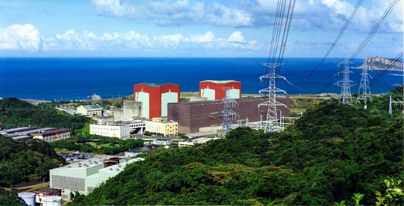 核二廠。圖/台電提供