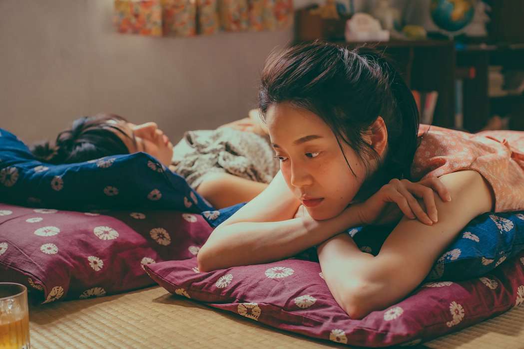 林辰唏(左)、程予希主演「第一次遇見花香的那刻」。圖/GagaOOLala提供