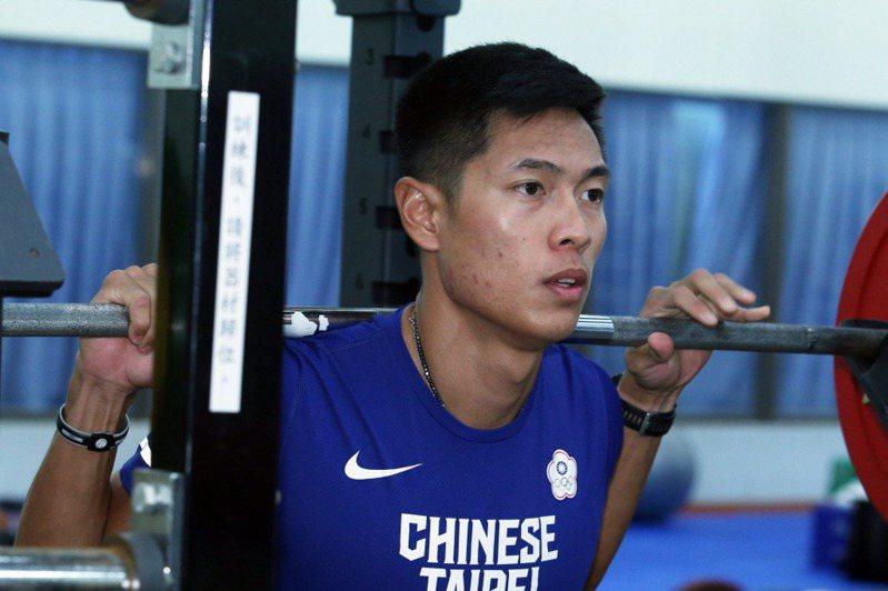 男子400公尺跨欄陳傑將連續第三屆參加奧運。 聯合報系資料照