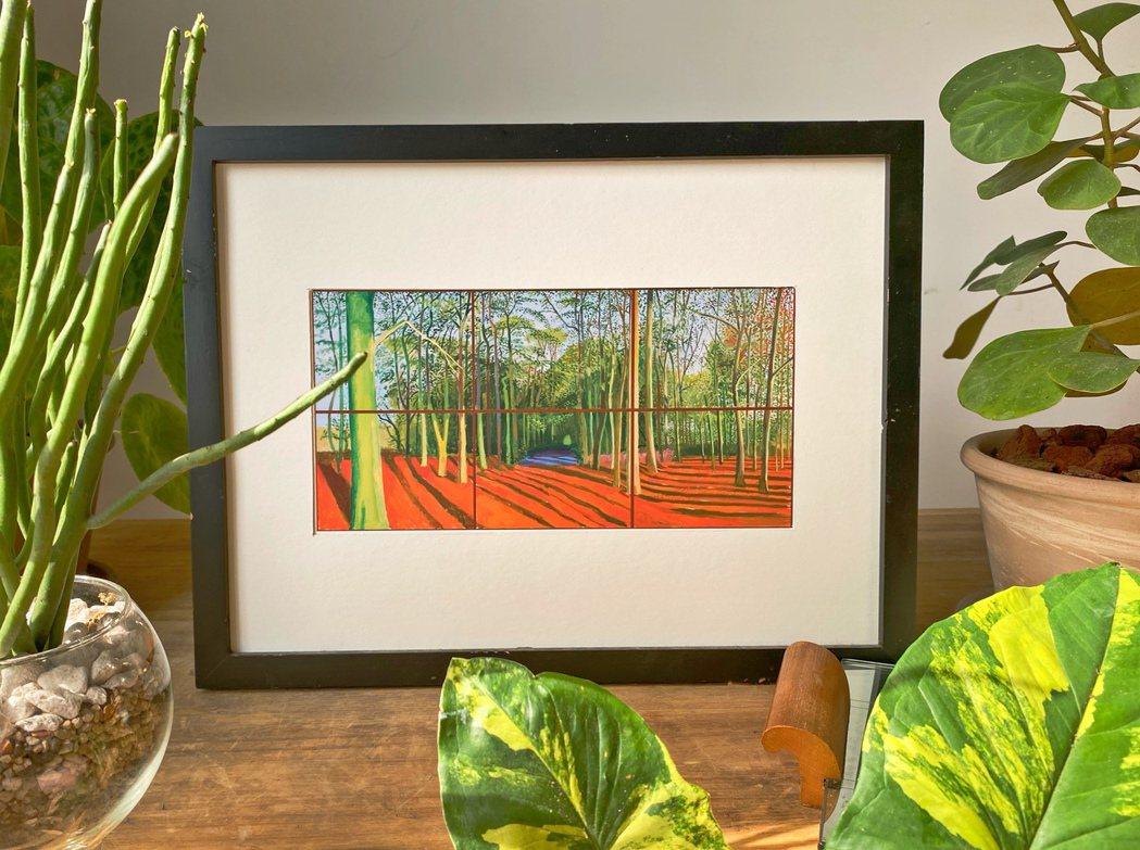 霍克尼後期轉向創作與山林植物相關的題材,經由個人特殊視角,展現出植物的生命活力。...