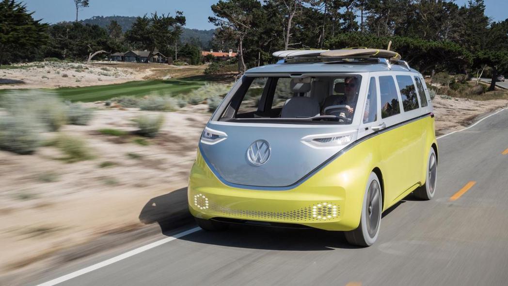 Volkswagen I.D. BUZZ Concept。 摘自Volkswag...
