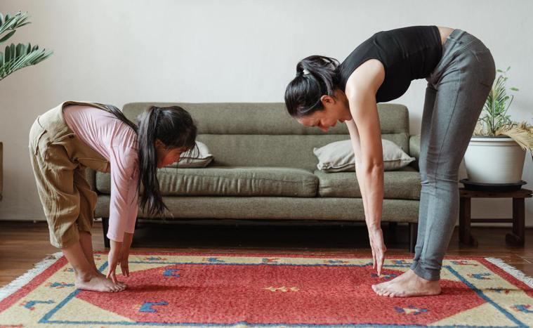 居家運動。圖片來源/Pexels