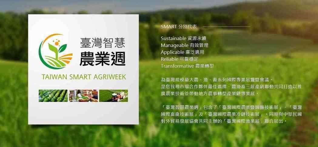 2021臺灣智慧農業週12月2至4日在台北南港展覽館2館展出。 貿有展覽/提供