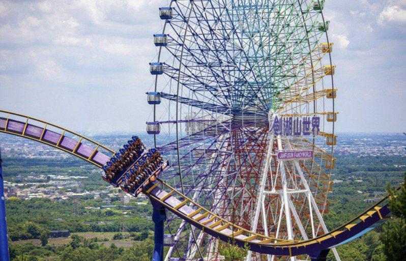 全台遊樂園持續暫停營業到7月12日。示意圖。圖/劍湖山世界提供