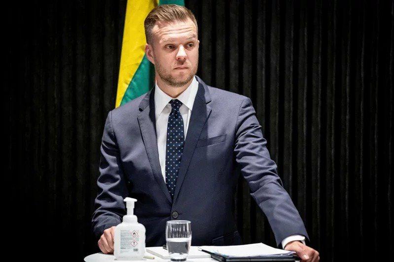 立陶宛外交部長藍斯柏吉斯。路透社