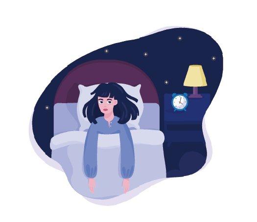 睡覺的時間與人類白天的表現與憂鬱心情息息相關。圖/123RF