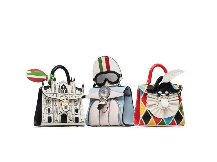 DELVAUX的Les Miniatures袖珍包義大利版相當可愛。圖/取自DE...