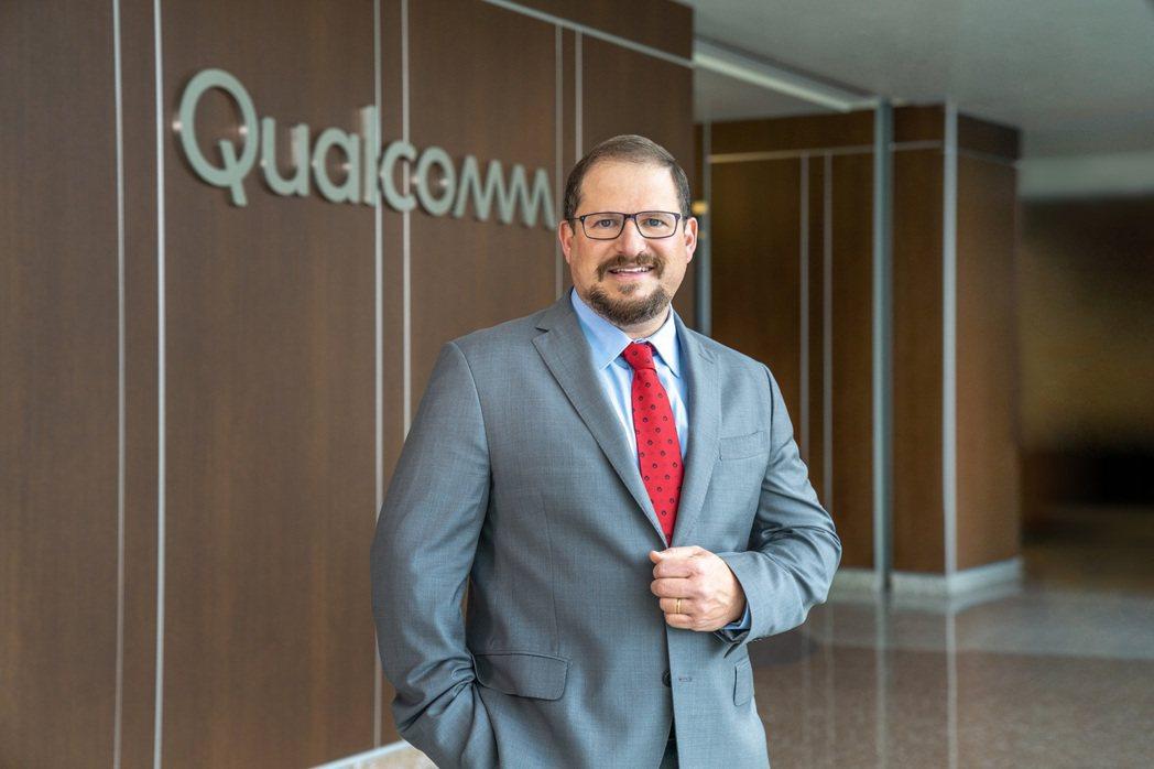 高通新任執行長Cristiano Amon,成為高通第四屆執行長。圖/高通提供