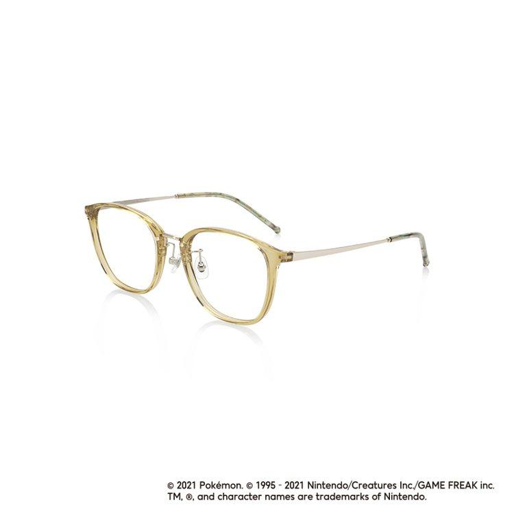 JINS寶可夢城都地區MODEL系列眼鏡2,480元。圖/JINS提供