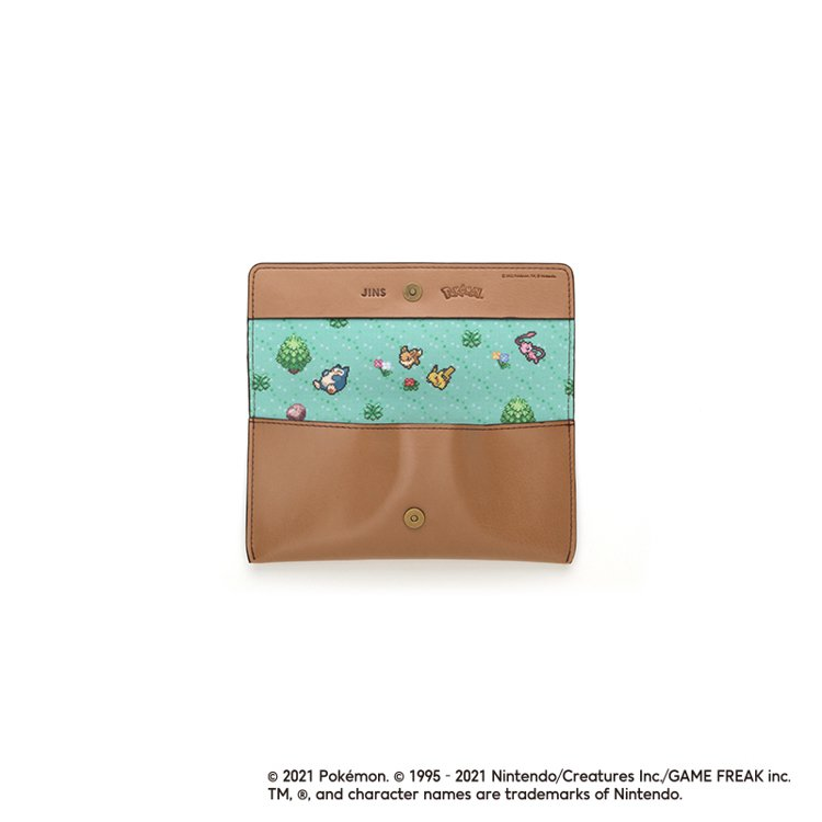JINS寶可夢系列眼鏡盒。圖/JINS提供