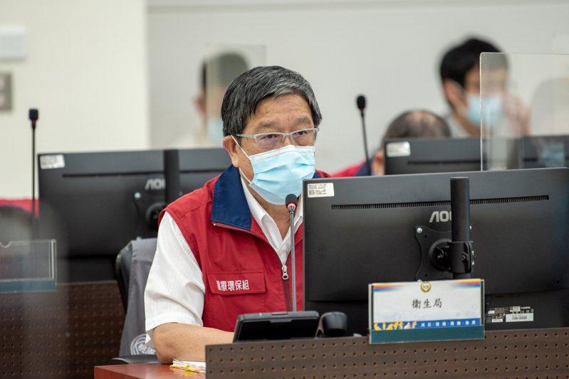 桃園市衛生局長王文彥公布指標個案姓氏,呼籲其朋友圈主動與衛生局聯繫。圖/桃園市政府提供