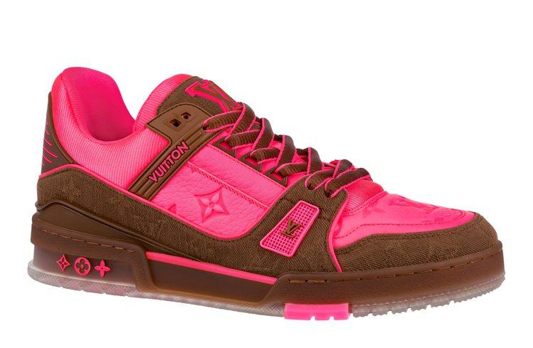 LV Trainer運動鞋,41,600元。圖/LV提供