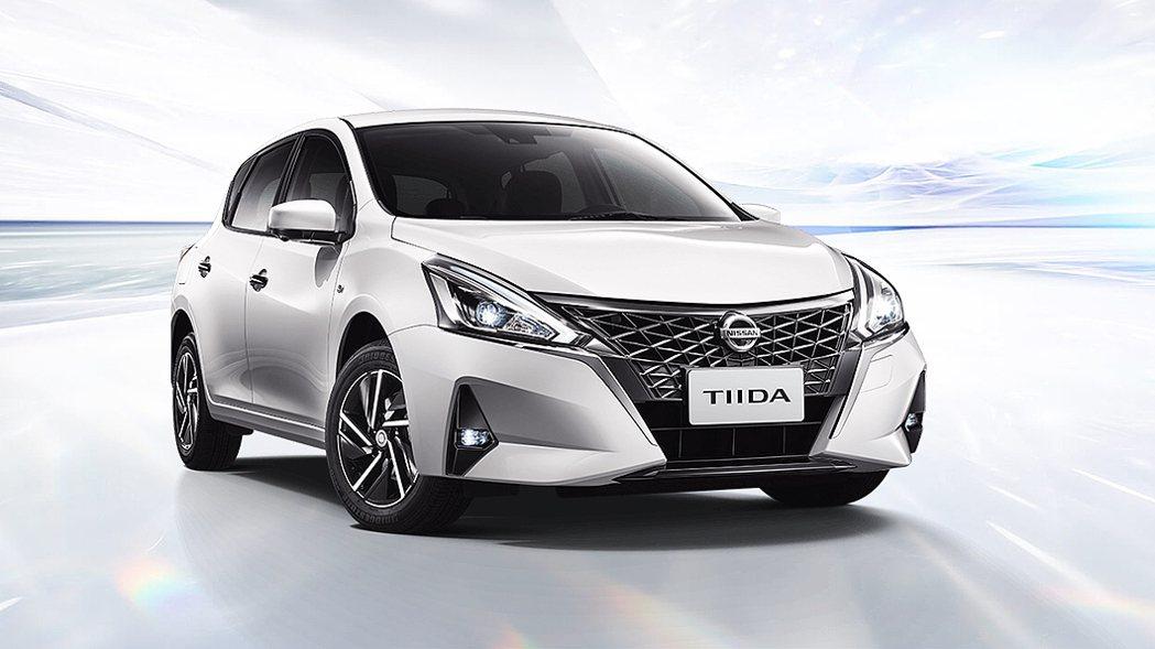 由日本改裝團隊操刀的Nissan Tiida J。 圖/裕隆日產提供
