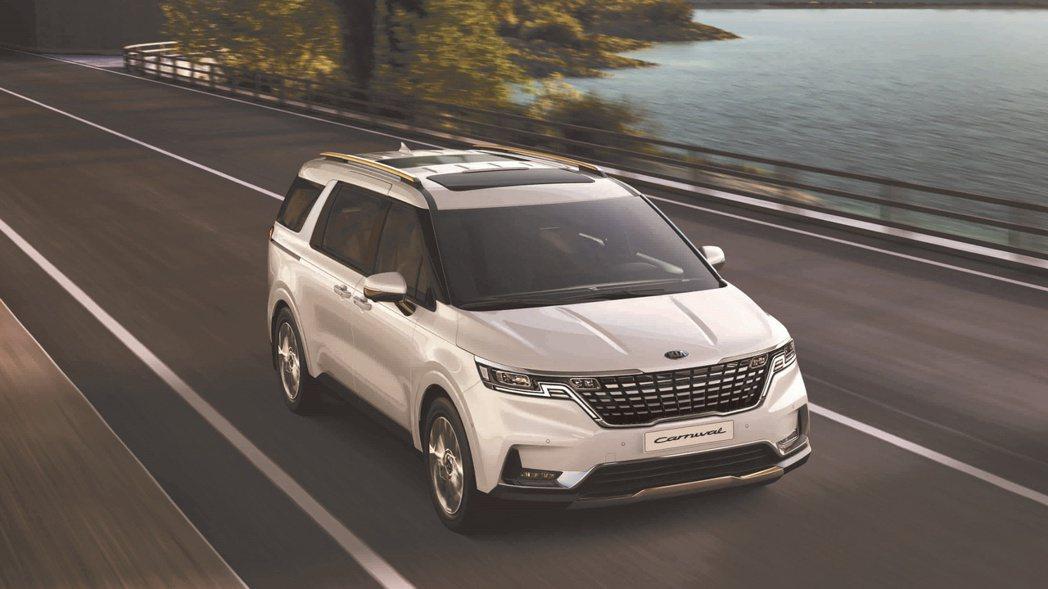KIA All-new Carnival融合SUV與MPV優勢,打造全新GUV級...