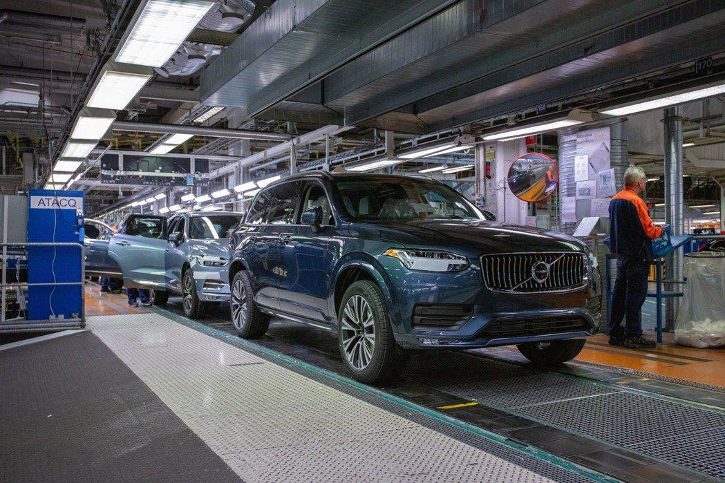 Volvo在2021上半年銷量成長超過四成。 摘自Volvo