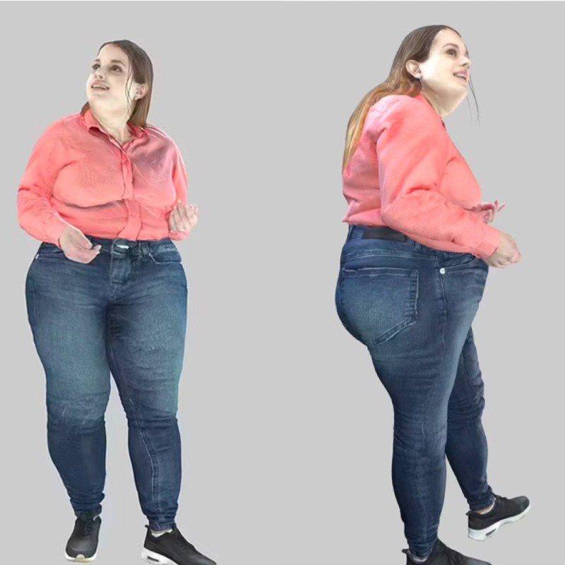 英國最新研究透過視覺技術,預測人類若持續在家上班五年後的模樣,結果呈現駝背、肥胖和膚色蠟黃等現象,猶如「怪人」令人害怕。圖/取自Lloyds Pharmacy