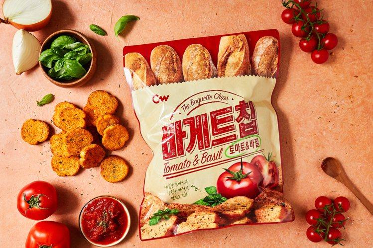 西西里風味法式麵包餅乾新上市。圖/CW提供