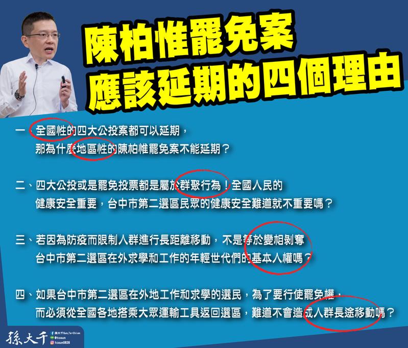 圖/國民黨前立委孫大千提供。