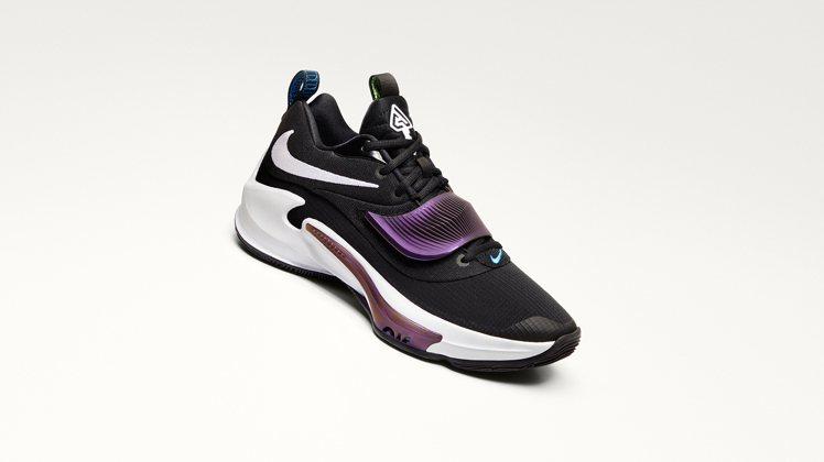 Nike Zoom Freak 3 「Project 34」球鞋4,000元。圖...