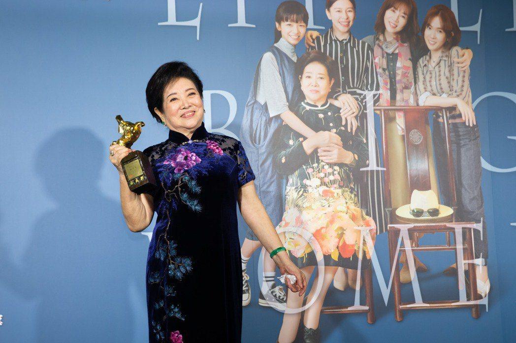 陳淑芳去年以「孤味」拿下金馬獎影后