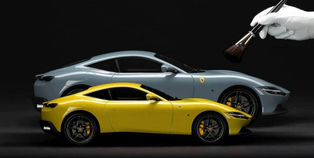 以後買Ferrari還可以順便買定製模型了。 摘自Amalgam Collect...