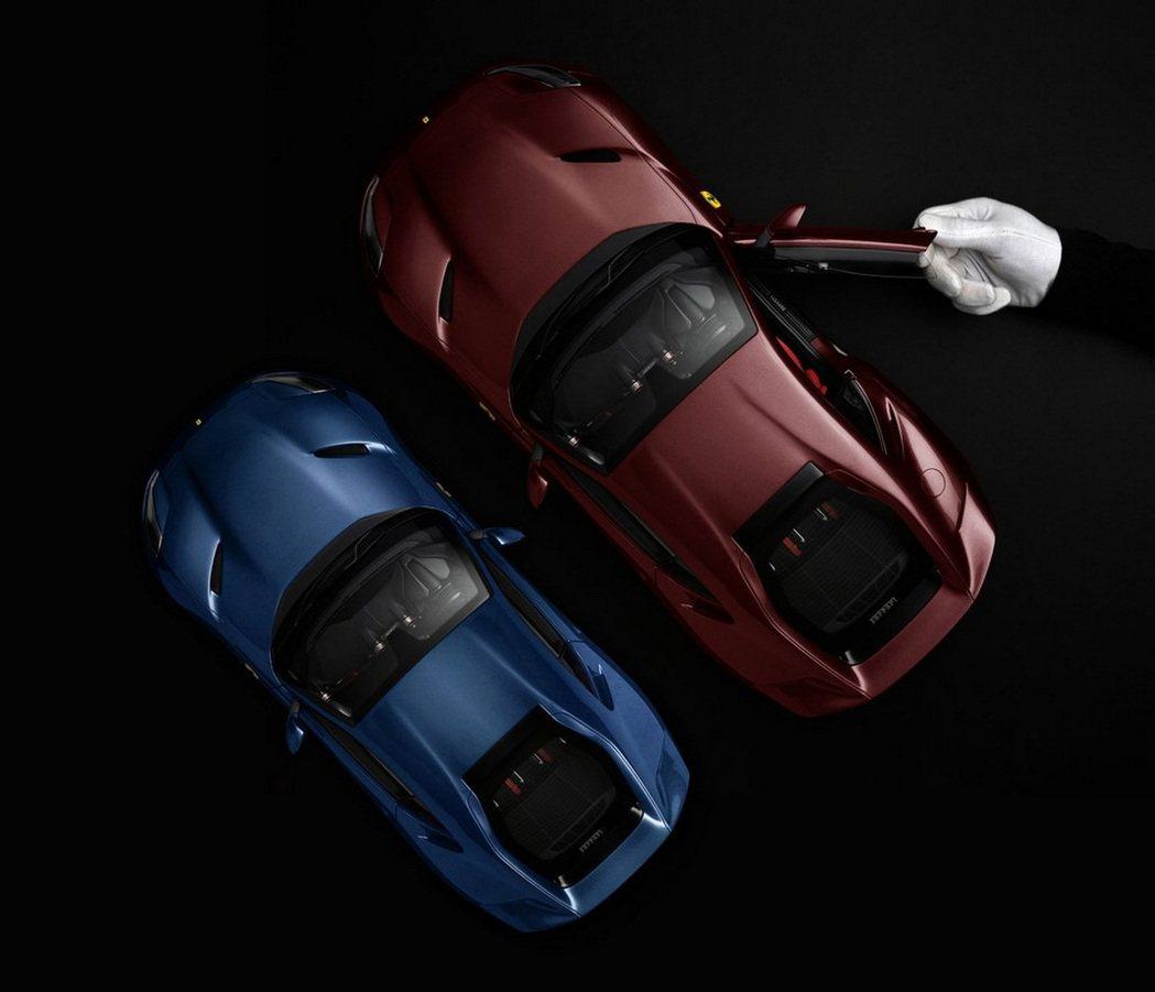 定製的1:12車輛模型將全數由Ferrari經銷商獨家販售。 摘自Amalgam...