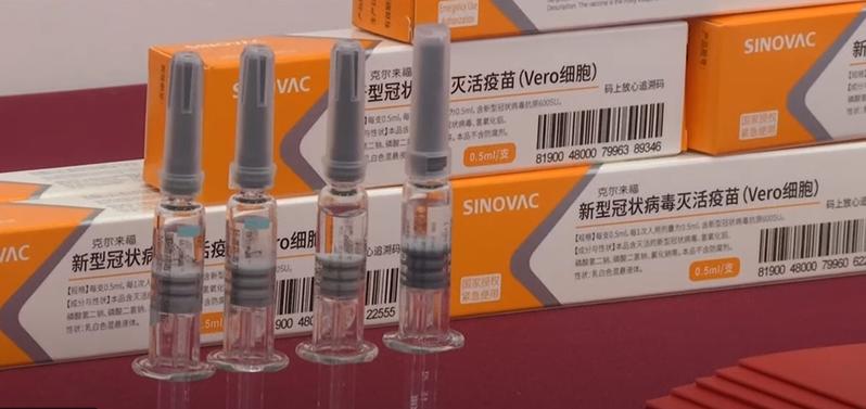 南非3日宣布批准中國科興公司生產的新冠疫苗緊急使用。(photo by France 24 影片截圖 )