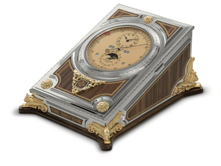 2021年ONLY WATCH慈善拍賣,百達翡麗呈獻型號27001M-001的桌...
