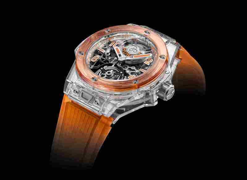 HUBLOT為ONLY WATCH慈善拍賣呈獻一枚獨一無二的Big Bang Only Watch陀飛輪腕表,估價16萬瑞法起。圖/宇舶表提供