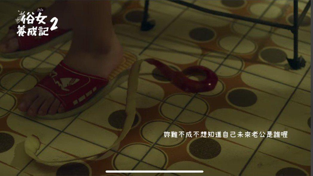 「俗女養成記2」有小嘉玲少女情懷。圖/摘自臉書
