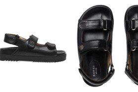 夏天就是要穿涼鞋!GUCCI新款寬版設計低調百搭