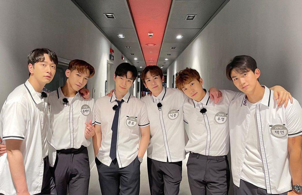 2PM熬過當兵空白期重新出輯。圖/愛奇藝國際站提供