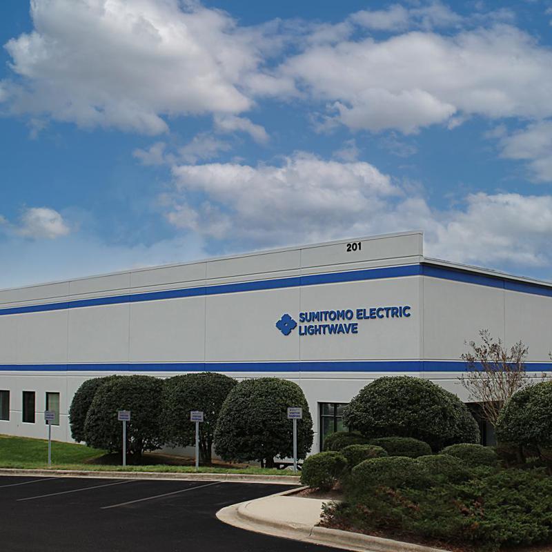 日本住友電工今年9月將在美國生產5G基地台晶片,圖為住友電工在美國的一處工廠 。住友電工