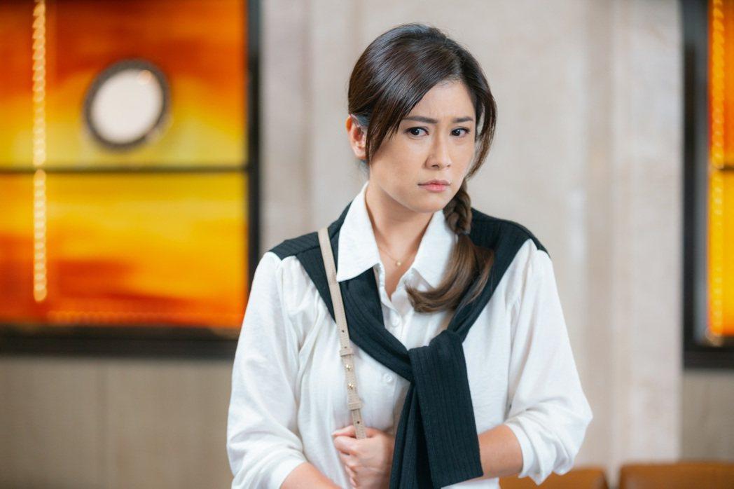 葉家妤在「黃金歲月」中飾演養女。圖/民視提供